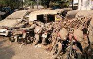 पिंपरी चिंचवड पोलिसांकडून जप्त वाहनांच्या मालकांचा शोध..