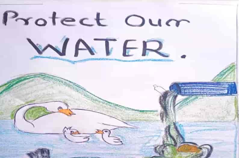 प्रतिभा महाविद्यालयात विद्यार्थ्यांचा पाणी बचतीचा 'संकल्प'..